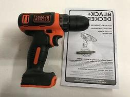 black and decker 12v 12 volt max
