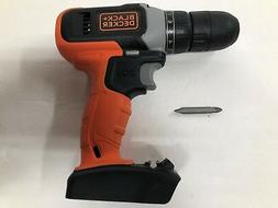 "Black & Decker 20V 20 Volt Max Lithium-Ion BCD702C 3/8"" DRIL"