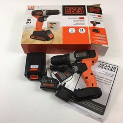 black and decker 20v lithium ion drill