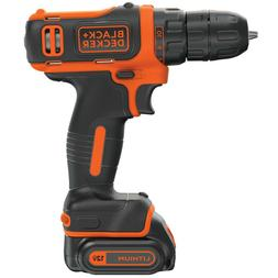 BLACK+DECKER 12-Volt Max 3/8-in Cordless Drill (Charger Incl