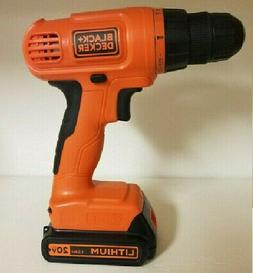 BLACK+DECKER 20V MAX Cordless Drill / Driver with 30-Piece A