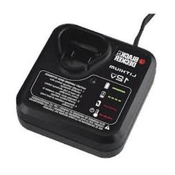 Black & Decker LCS12 - 12 Volt Lithium Charger for LBX12 Bat
