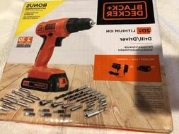 BLACK+DECKER LD120VA 20-Volt Max Lithium Drill/Driver with 3
