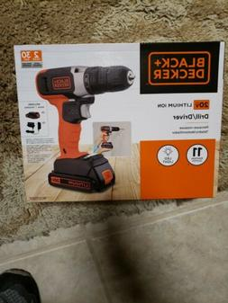black decker ldx120c 20v max lithium ion