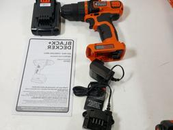 BLACK+DECKER LDX120C 20V MAX Lithium Ion Drill / Driver OPEN