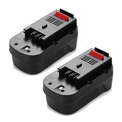 Powerextra Upgraded 2 Pack 3500mAh 18Volt HPB18 Replacement