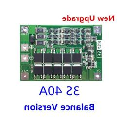 BMS Protection Board 3S 40A 18650 Lithium Battery 11.1V 12.6