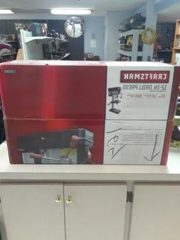 """BOXED - Craftsman 12"""" Drill Press with Guiding Laser and LED"""