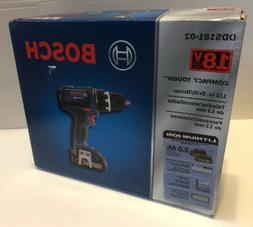 BRAND NEW BOSCH DDS181-02 18V 18 Volt Li-Ion Compact Tough 1