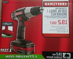 Craftsman C3 19.2-volt 3/8-in. Lithium-ion Drill/driver Kit