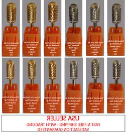 TDUSA CARBIDE NAIL DRILL BIT FOR PRO: ROUNDED TOP DRILL BITS