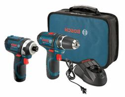 Bosch CLPK22120 12V Cordless 3/8 in. Drill and Impact Driver