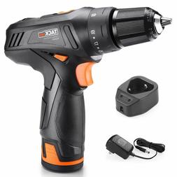 Cordless Drill, TACKLIFE Drill Driver Set 2000mAh Li-on 12V