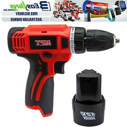 MPT Cordless Drill Driver 12V Power with Battery & Charger F