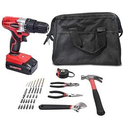 WORKSITE 18V Cordless Drill Driver Household Tool Drill Proj
