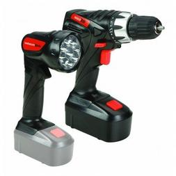 18 Volt Cordless 3/8 inch Drill and Driver with Keyless Chuc