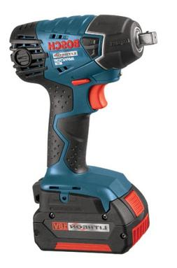 Bosch 24618-01 18V Cordless Lithium-Ion 1/2 in. Impact Wrenc
