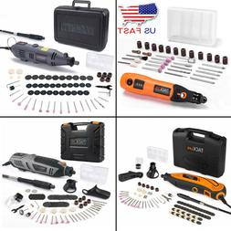 TACKLIFE Cordless Rotary Tool Set DIY Eqpmt Rechargeable Acc