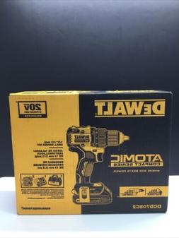 DEWALT DCD708C2 ATOMIC 20V MAX BL Li-Ion 1/2 in. Drill Drive