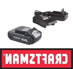 Craftsman/DieHard Lithium-Ion 20V MAX Battery & 20V Charger