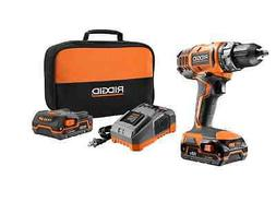 RIDGID Drill  18-Volt Lithium-Ion 1/2 in. Cordless Compact H