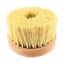 "Drill Arbor Natural Bristles Buffing Brush 4"" Wide the Best"