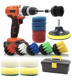 Drill Brush and Scrub Pads GOH DODD 20 Pieces Power Scrubber