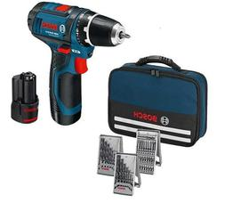Bosch Drill Driver GSR 12V-15 12V Voltage 2x2.0Ah Accuracy W