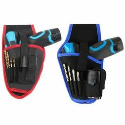 Drill Holster Cordless Holder Heavy Duty Tool Belt Pouch Bag