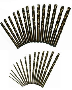 Drill America DWD29J-CO-PC Qualtech 29 Piece Cobalt Steel Jo