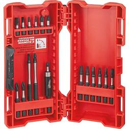 MILWAUKEE ELEC TOOL 48-32-4403 18PK Driver Bit Set