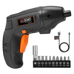 Electric Screwdriver, Tacklife Cordless Screwdriver Recharge
