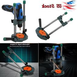 Electric Angle Drill Holder Guide Stand Positioning Bracket