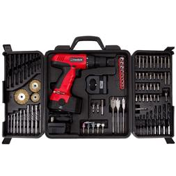 Electric Drill Cordless 89 Piece Set Stalwart 18V
