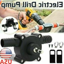 Electric Drill Hand  Drive Self-Priming Pump Oil Fluid Water
