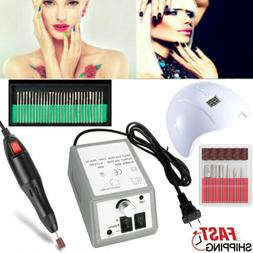 electric nail drill polish dryer lamp led