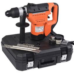 "1100W 1-1/2"" SDS Plus Electric Rotary Hammer Drill Corded Va"