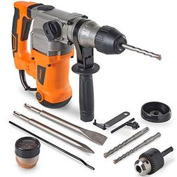 VonHaus 10 Amp Electric Rotary Hammer Drill with Vibration C