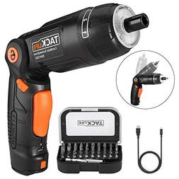 Electric Screwdriver, SDH13DC Cordless Rechargeable Screwdri