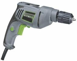 Genesis GD38B VSR Electric Drill, 3/8-Inch, Grey