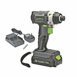 Genesis GLID20A 20V Lithium-ion Cordless Impact Driver, Grey