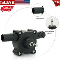Hand Electric Drill Drive Self Priming Pump Oil Fluid Water