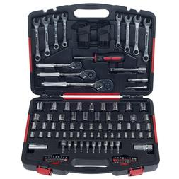 Stalwart 135-Piece Hand Tool Set Garage and Home