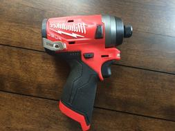 """Milwaukee Electric Tools MLW2553-20 M12 Fuel 1/4"""" Hex Impact"""