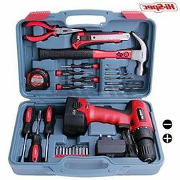 Hi-Spec Household Tool Kit Drill Driver SP. 0-550 RPM Repair