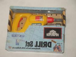 HOME IMPROVEMENT TIM ALLEN TOOL TIME TOY DRILL SET TV SHOW D