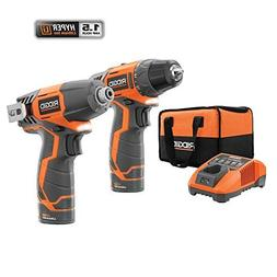 Ridgid 12-volt Hyper Lithium-ion Drill/driver and Impact Dri