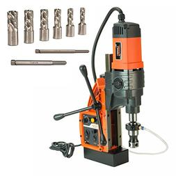 """Cayken KCY-48-2WDO 1.8"""" Magnetic Drill Press with 7PC 1"""" Sma"""