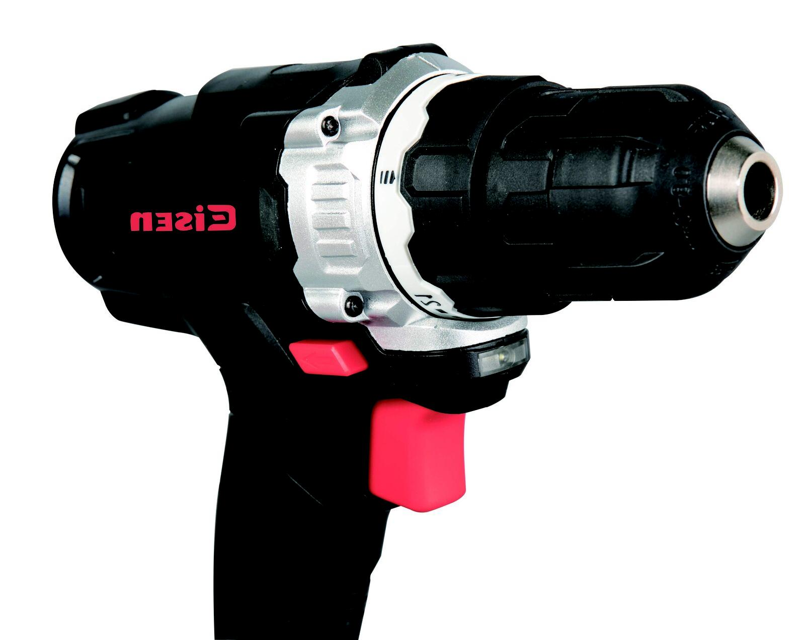 12V Drill, 21+1 With LED Tools