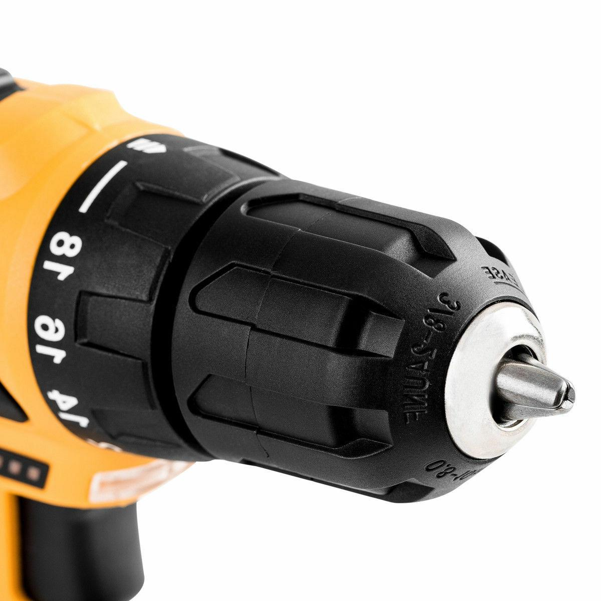 18+1 Driver Lithium-Ion Battery 2-Speed Drill